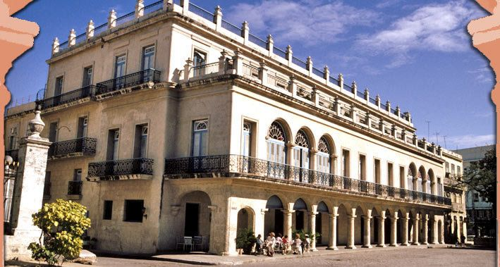 Starwood also signed a letter of intent to refurbish the Hotel Santa Isabel and add it to its Luxury Collection. It's still w