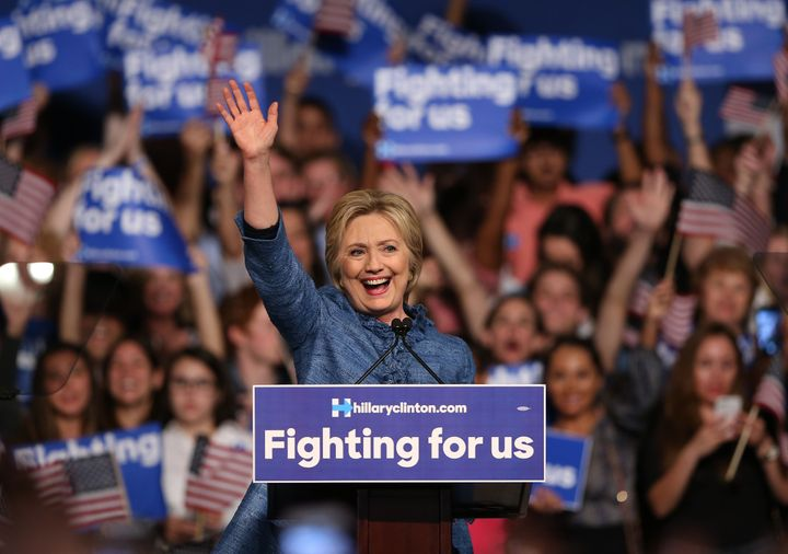 Hillary Clinton raised $10.5 million from small donors in February.