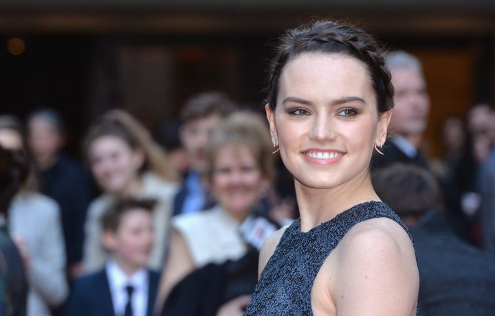 Daisy Ridley attends the Jameson Empire Awards 2016 at The Grosvenor House Hotel on March 20, 2016 in London, England.