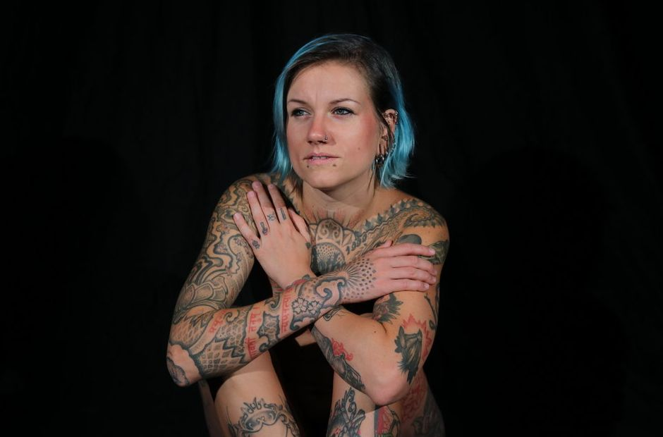Intimidating women meaningful sleeve