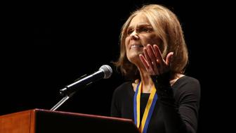 NEW YORK, NY - MARCH 03:  Gloria Steinem attends 2016 John Jay Medal for Justice Award at Gerald W. Lynch Theater at John Jay College of Criminal Justice on March 3, 2016 in New York City.  (Photo by Laura Cavanaugh/FilmMagic)
