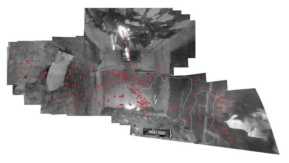 Photograms taken from Decoding video testimony, Miranshah, Pakistan, March 30, 2012.