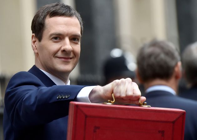 George Osborne on Budget Day - before it all went