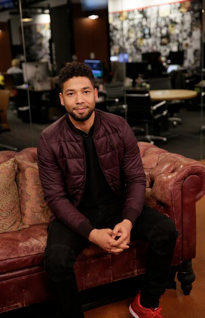Jussie Smollett sat down with HuffPost Live and discussed HIV/AIDS prevention.