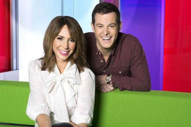 'Squeaky clean': 'The One Show' presenters Alex Jones and Matt
