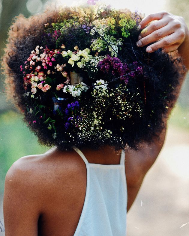London Photographer Creates Stunning Artwork From Afros To Challenge 'Natural Hairstyle