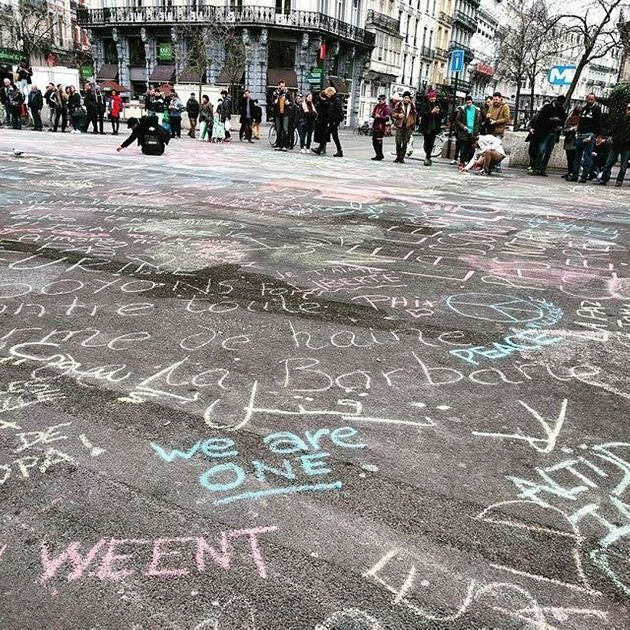 People Fight Back Against Brussels Terror With