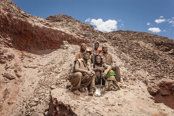The miners - Mkuki Mines, Tsavo.