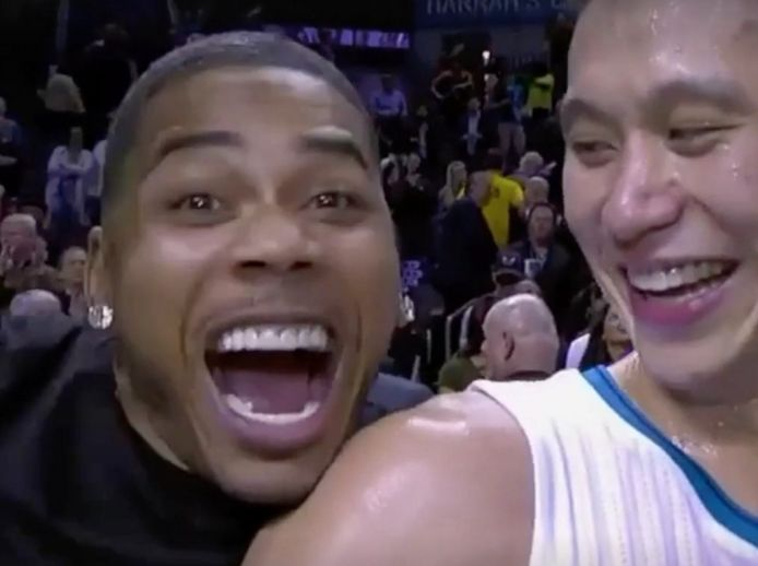 "The new, defining image of Linsanity never looked so ""Hot in Herre."""
