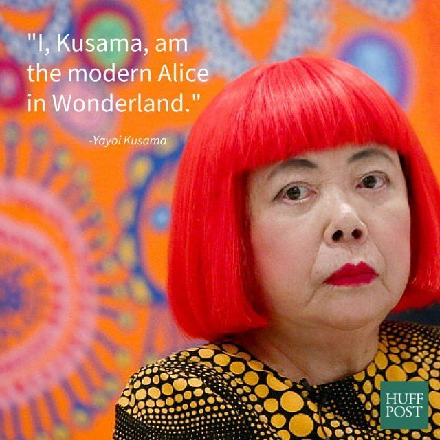 Happy Birthday Yayoi Kusama One Of The Most Famous Living Artists Today Huffpost