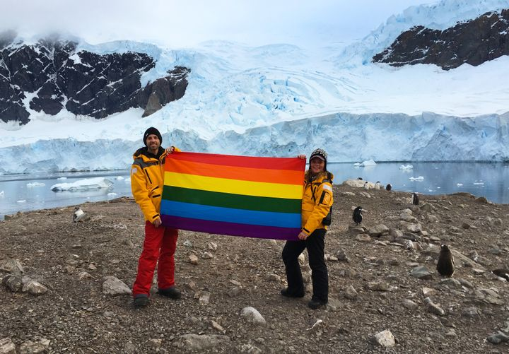 Planting Peace in Antartica