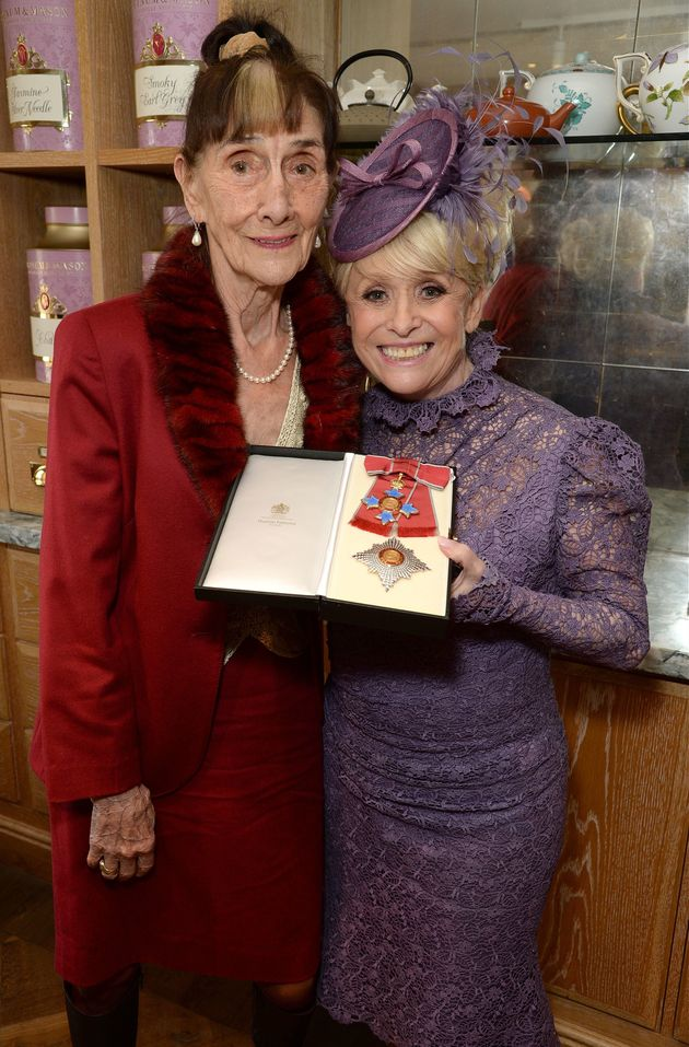 June Brown was there to support her friend and 'EastEnders'