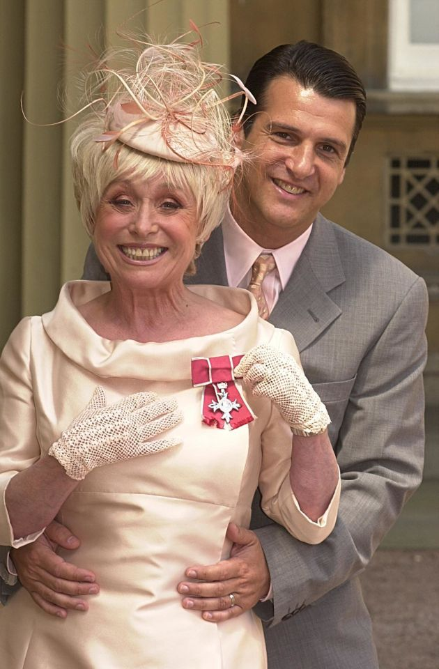 Babs (seen here with her husband Scott) was previously awarded an MBE in