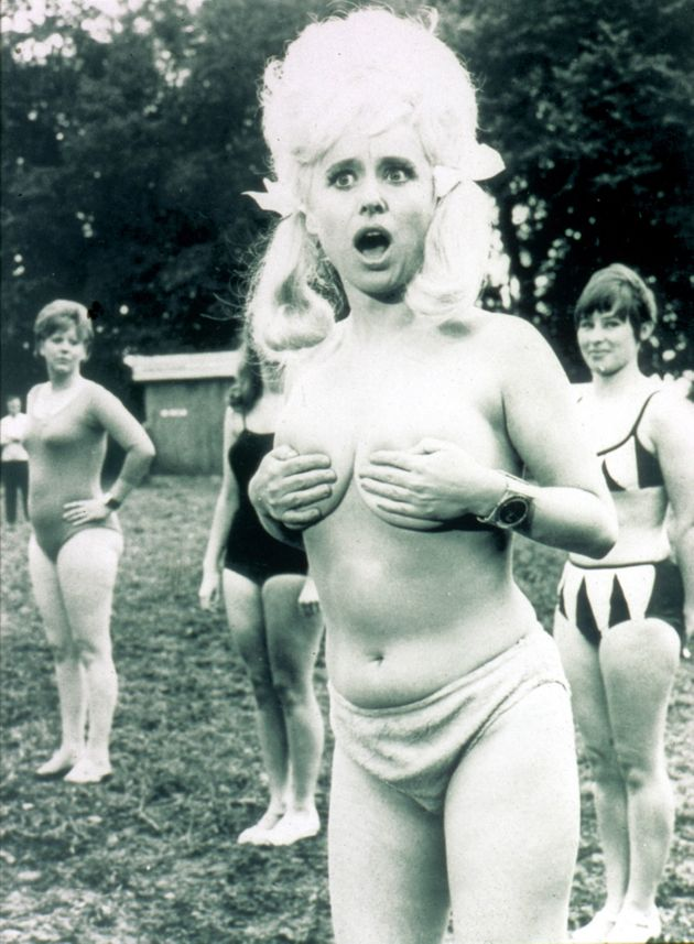 Barbara Windsor in Carry On Camping in
