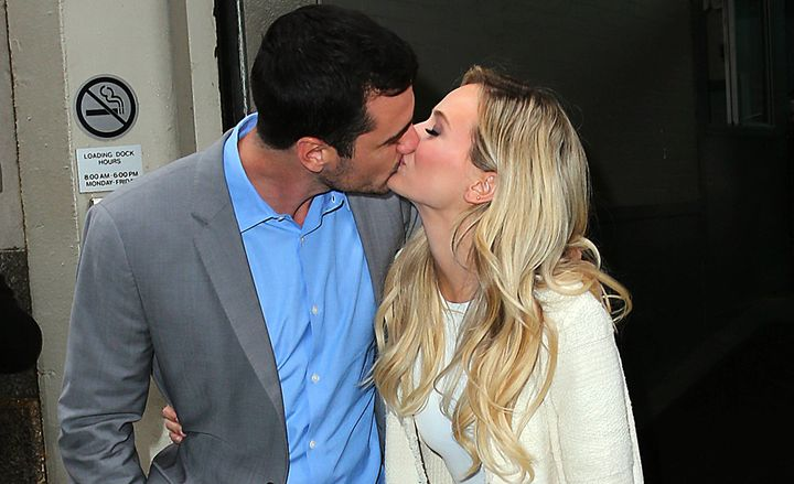 Ben Higgins and Lauren Bushnell: Two total lovebirds who are definitely here to make friends.
