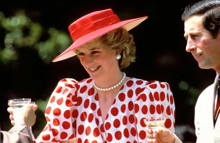 Diana, princess of Wales in Japan in 1986.