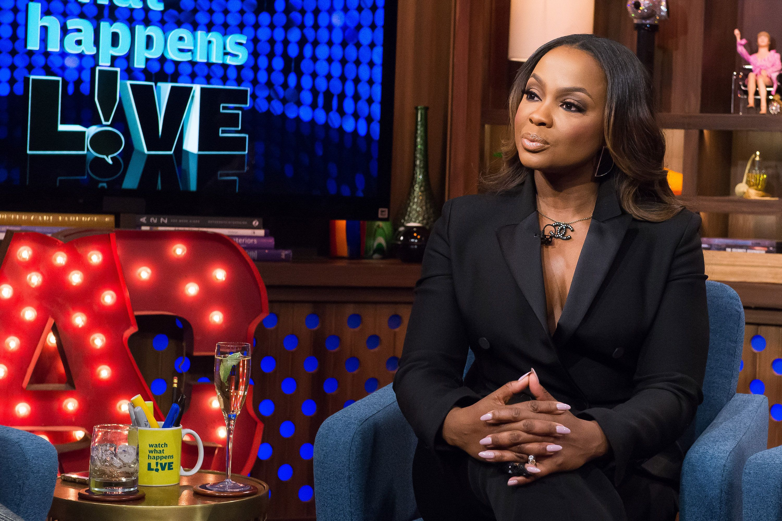 WATCH WHAT HAPPENS LIVE -- Pictured: Phaedra Parks -- (Photo by: Charles Sykes/Bravo/NBCU Photo Bank via Getty Images)