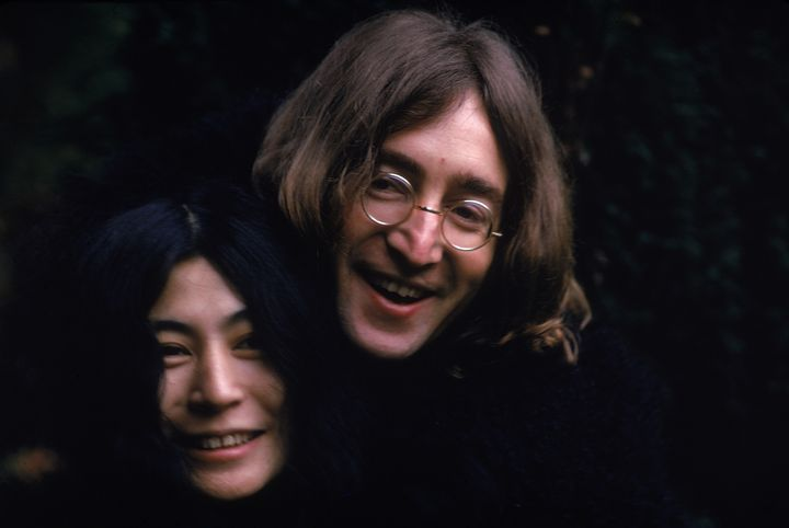 Yoko Ono and John Lennon worked together to spread a message of peace.