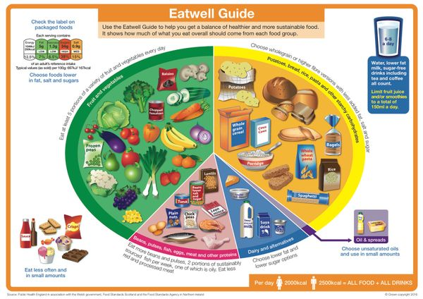 "<a href=""http://www.nhs.uk/Livewell/Goodfood/Pages/the-eatwell-guide.aspx"" target=""_blank"">The U.K.'s ""Eatwell Guide""</a> sta"