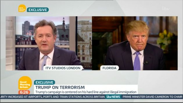 Donald Trump Tells Piers Morgan That Muslims Are 'Absolutely Not' Reporting