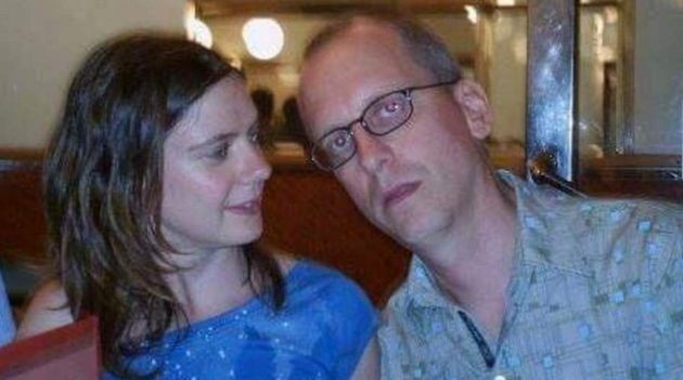 David Dixon, pictured with his partner, Charlotte, is missing after the Brussels
