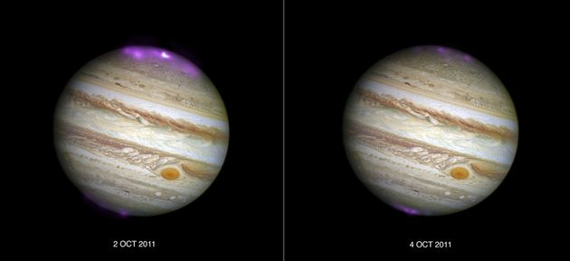 Jupiter's Stunning Earth-Sized 'Northern Lights' Spotted By NASA For The First