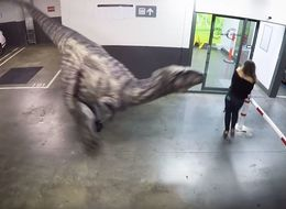 This Jurassic Prank Is The Most Fiendish We've Seen In A While