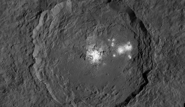 Ceres' Mysterious Bright Spots Captured In Stunningly Detailed