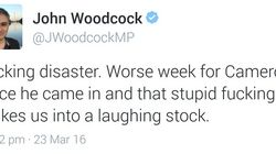PMQs: Labour MP John Woodcock Deletes Tweet After Calling Session A 'F*cking
