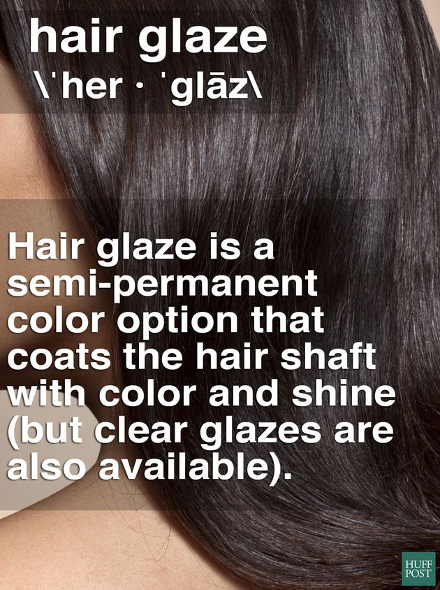 Glazes offer a quick color boost for individuals who are in between dye-job