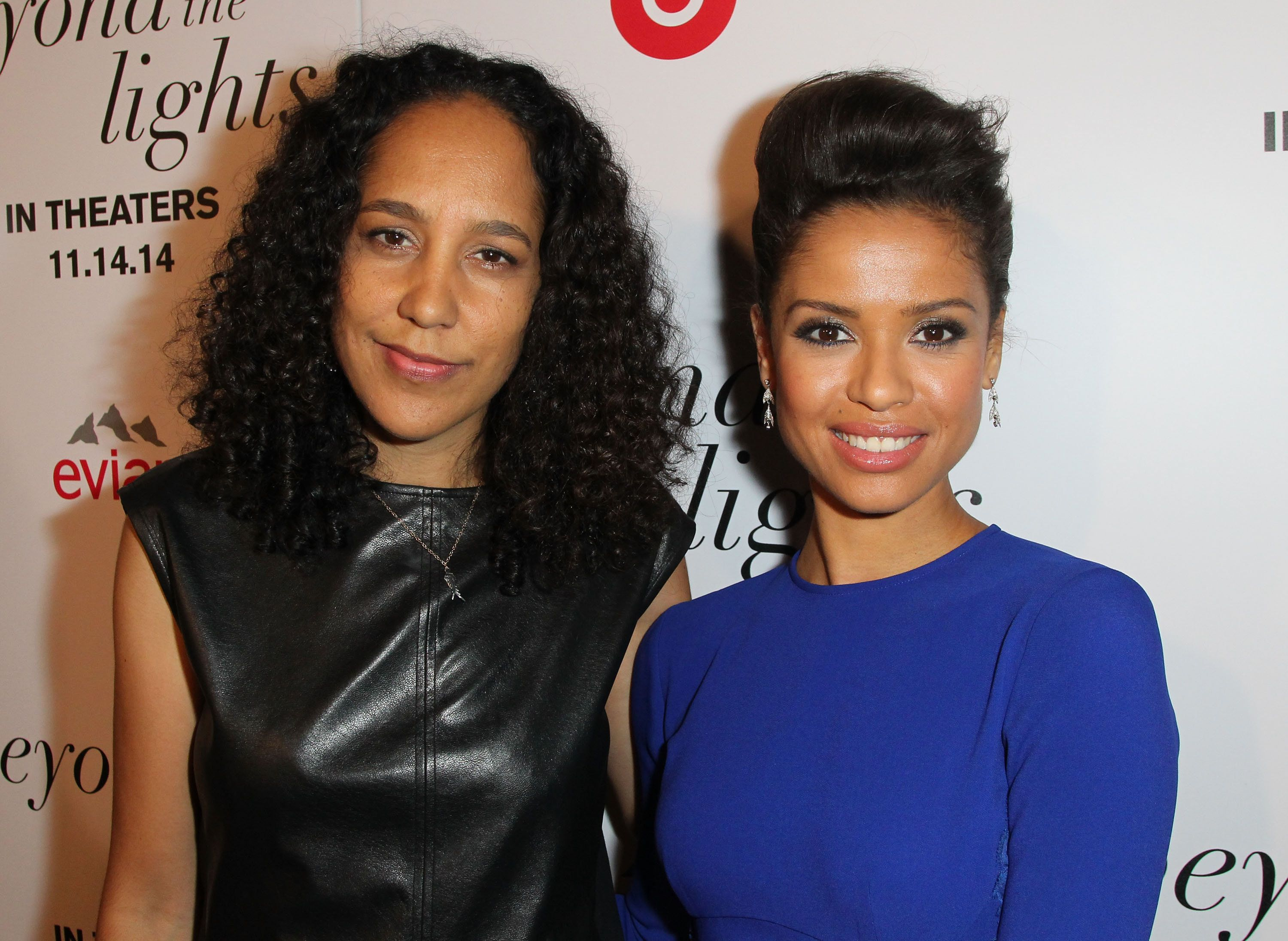 HOLLYWOOD, CA - NOVEMBER 12:  Director Gina Prince-Bythewood (L) and actress Gugu Mbatha-Raw attend the Premiere of Relativity Studios and BET Networks' 'Beyond The Lights'  at ArcLight Hollywood on November 12, 2014 in Hollywood, California.  (Photo by David Buchan/Getty Images)