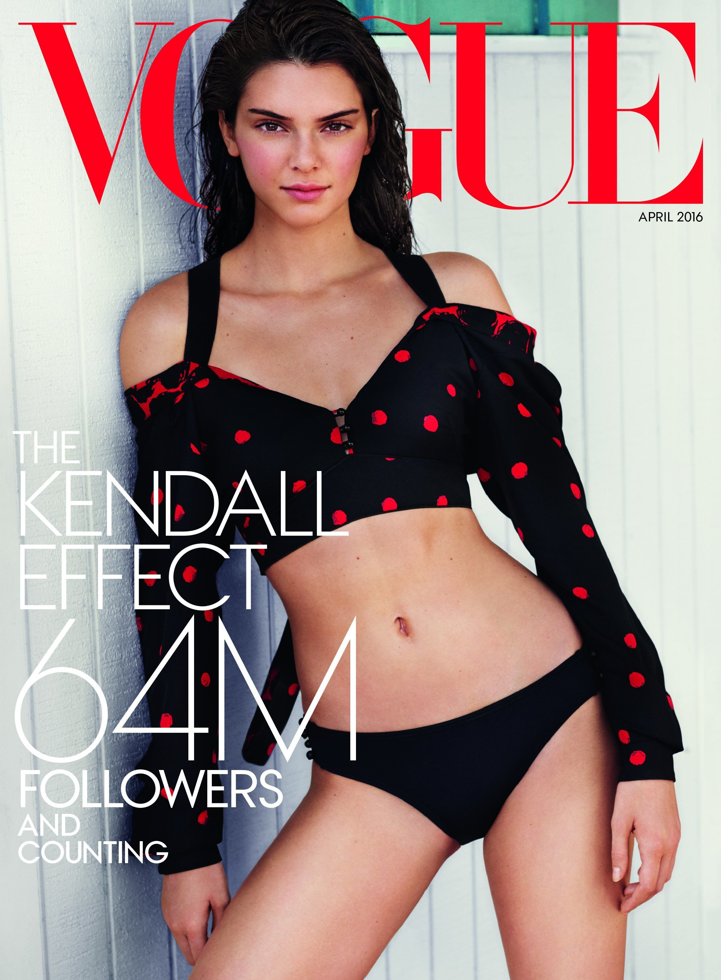 Kendall Jenner Strips Down For New Vogue