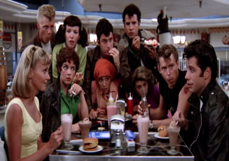 'Grease' became one of the year's biggest films when it debuted in