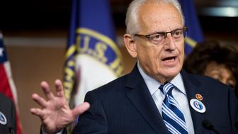UNITED STATES - JULY 30: Rep. Bill Pascrell, Jr., D-N.J., speaks during the House Democrats' news conference to discuss Republican lawsuit against President Obama and the House Democrats' focus on the economy on Wednesday, July 30, 2014. (Photo By Bill Clark/CQ Roll Call)