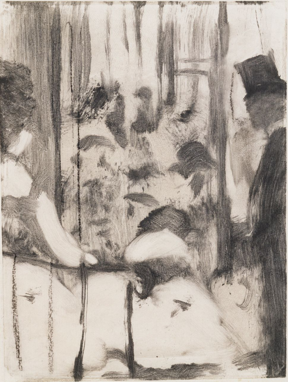 Edgar Degas (French, 1834&ndash;1917). <i>Dancers Coming from the Dressing Rooms onto the Stage</i><i> (Et ces demoiselles fr