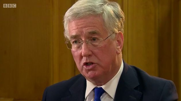 Defence secretary Michael Fallon said idea UK security was damaged by EU membership was