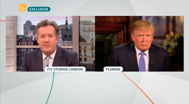 Piers Morgan interviews Donald