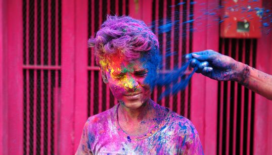 Vibrant Photos Show How Holi Is The World's Most Colourful