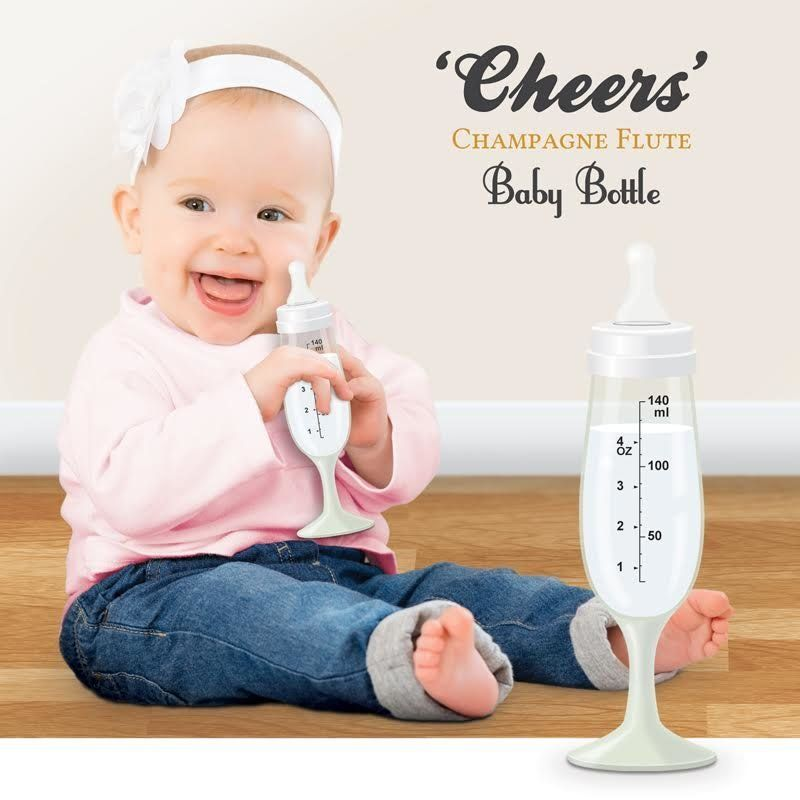 Champagne Baby Bottle: Newborns Can Drink Milk In Style Thanks To This Latest