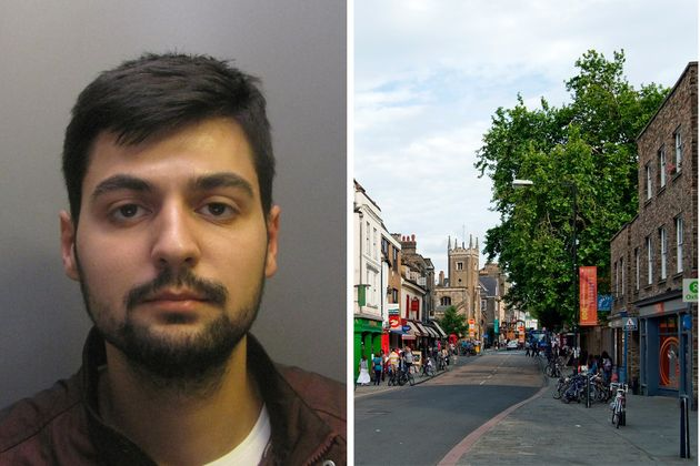 Muhammed Ekici, 24, left, was found guilty of rape after the attack in Cambridge,