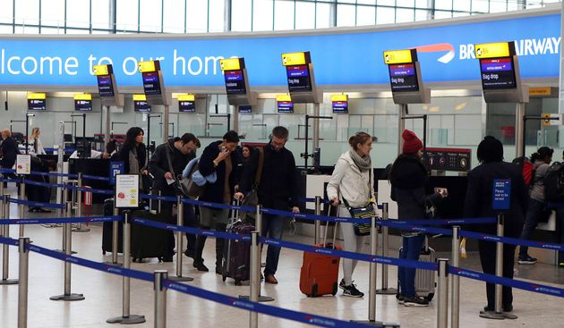 Security has been stepped up at Heathrow and Gatwick airports following the Brussels