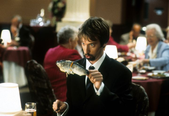 "Tom Green is seen in a scene from his 2001 comedy, ""Freddy Got Fingered."" The comedian offered to do what he can to help the"