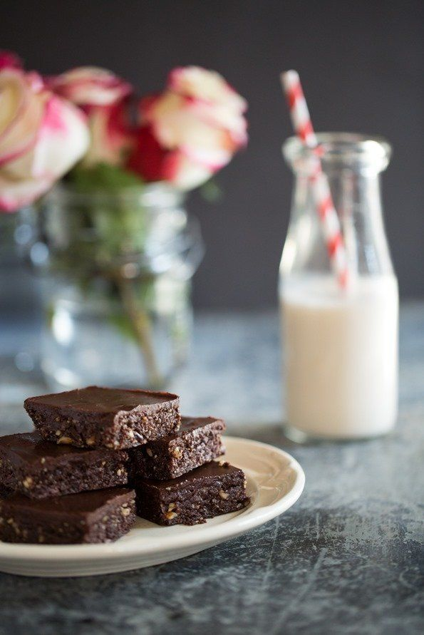 These Healthy Sweet Potato Brownies Are