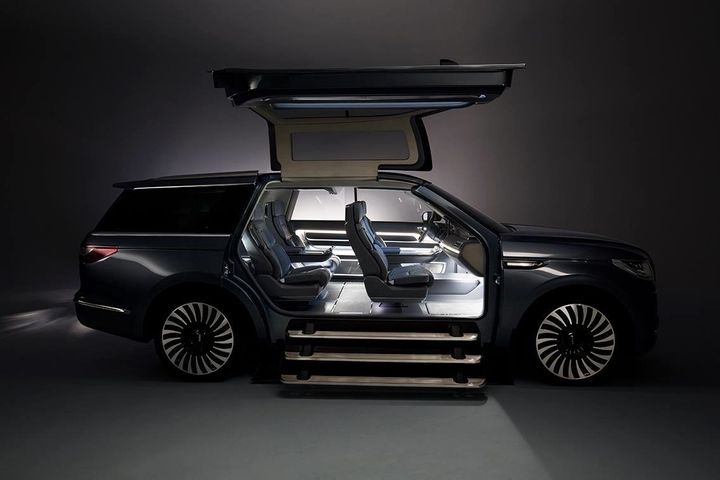 This Suv With Gullwing Doors Would Make For The World S Coolest