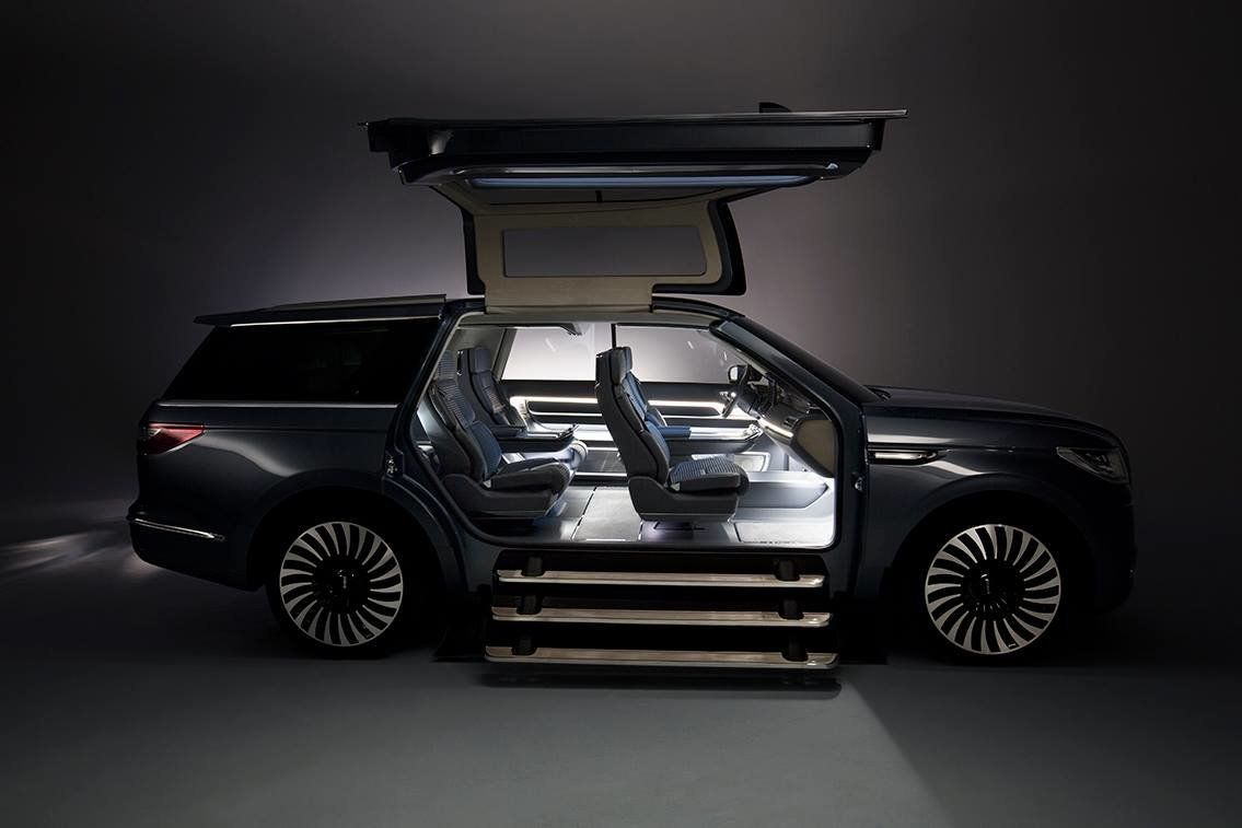 Facebook/Lincoln & This SUV With Gullwing Doors Would Make For The Worldu0027s Coolest ...