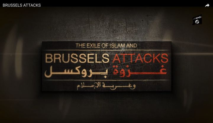 The so-called Islamic State released a video on social media days after the attacks in Brussels, which they claimed responsib
