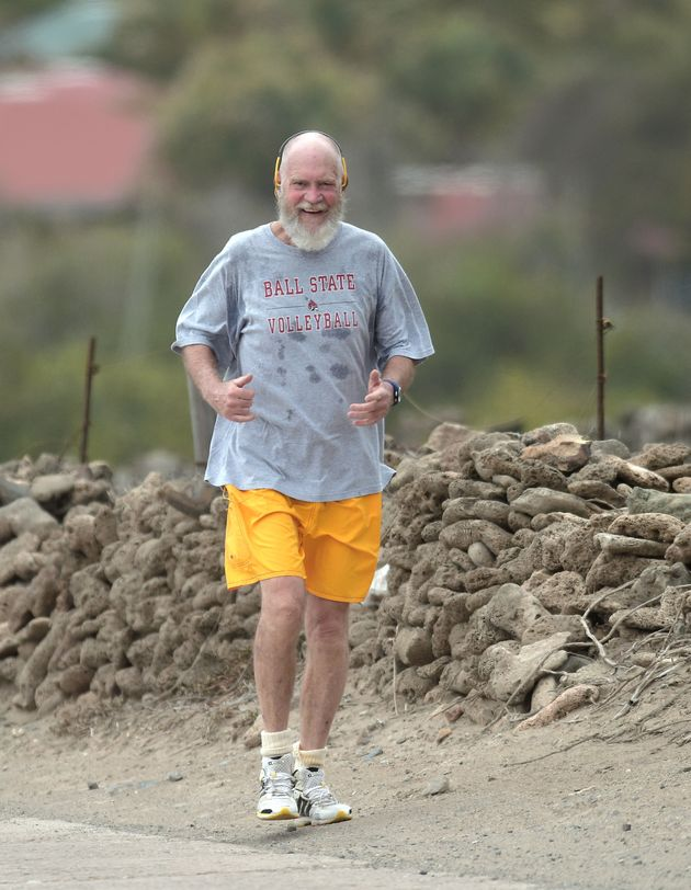 David Letterman Looks Like A Totally Different Person Now He's