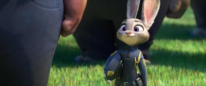 "The little bunny who could in ""Zootopia."""