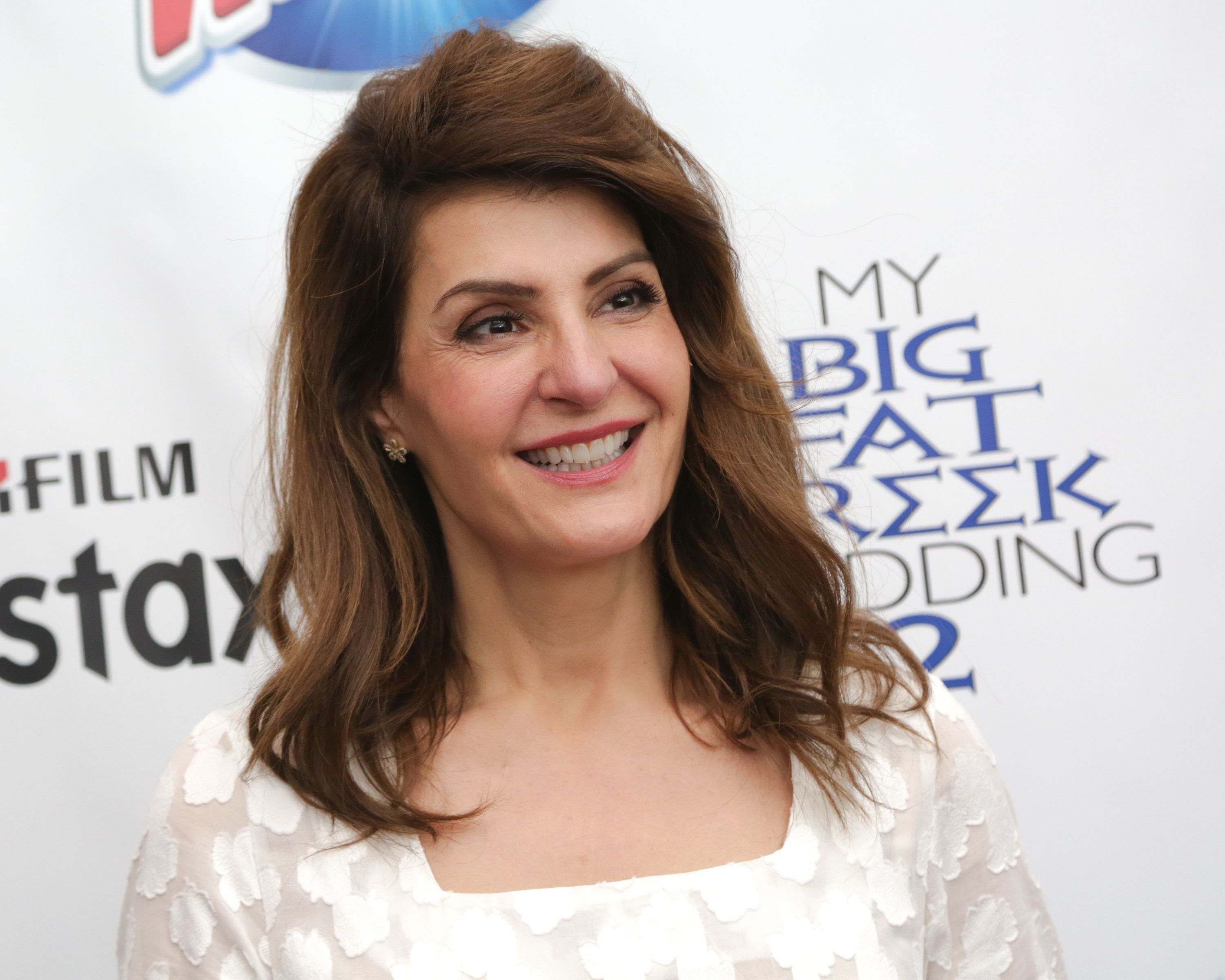 NEW YORK, NY - MARCH 18:  Actress/screenwriter Nia Vardalos attends the Mamarazzi screening of 'My Big Fat Greek Wedding 2' on March 18, 2016 in New York City.  (Photo by Brent N. Clarke/FilmMagic)