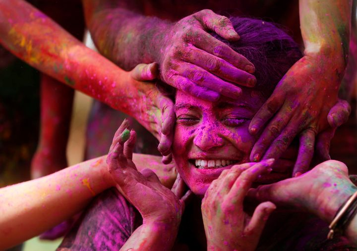 Holi is the Hindu festival of colors, celebrating the onset of spring.